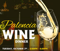 wine dinner at WildFin American Grill