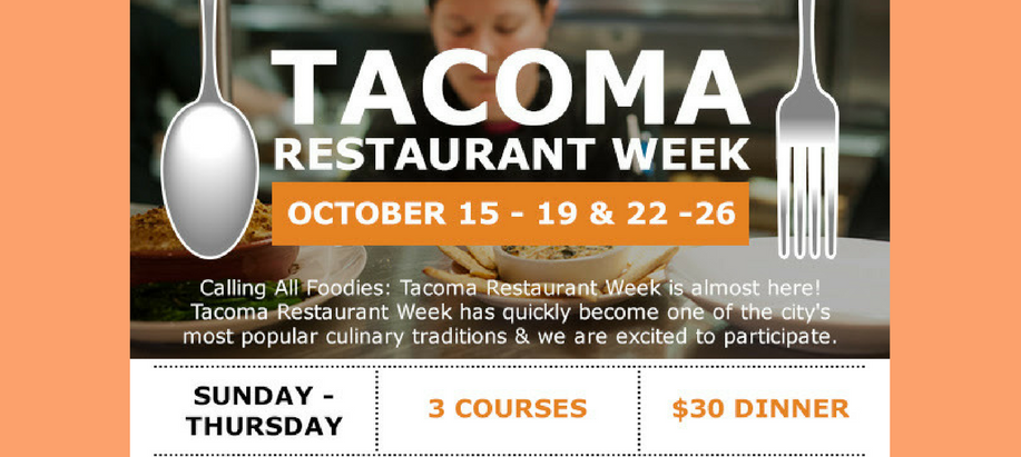 Tacoma Restaurant Week