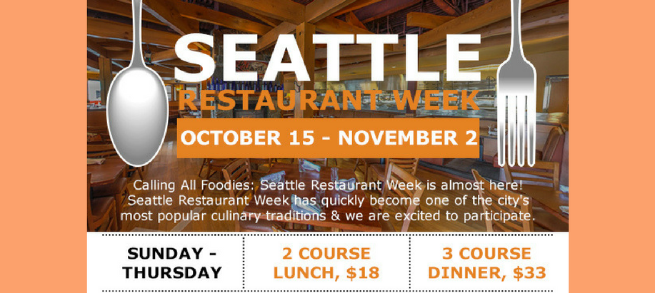 Seattle Restaurant Week - WildFin American Grill