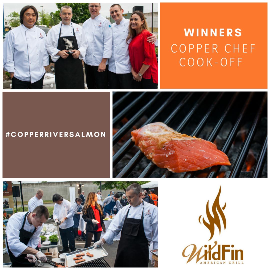 Copper River Salmon At Wildfin Wildfin American Grill