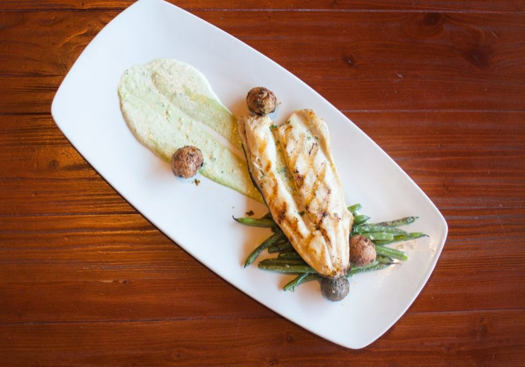 Vancouver Grilled Trout with Green Beans