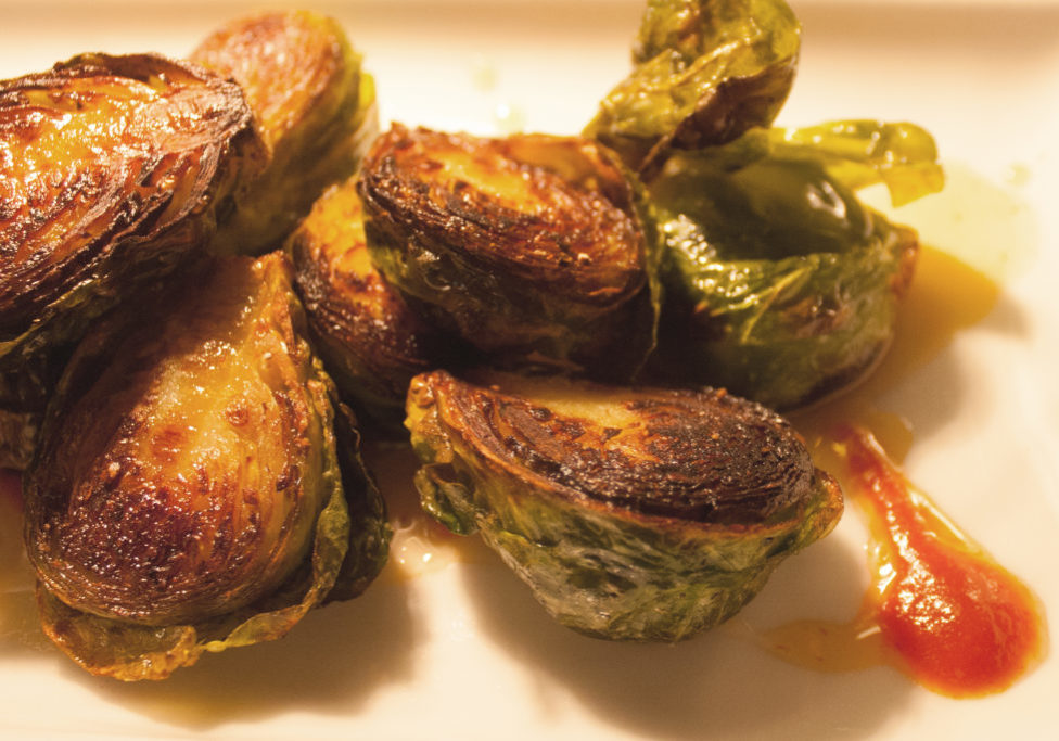 brussel sprouts detail